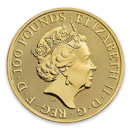 2019 1oz British Royal Arms Gold Coin