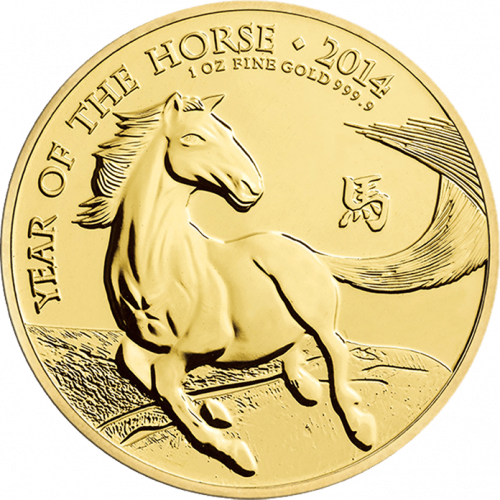 2014 1oz British Lunar Series: Year of the Horse