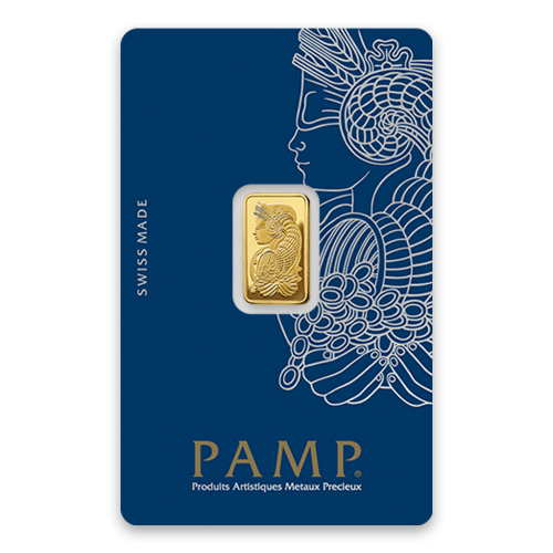 2.5g PAMP Gold Bar - Fortuna