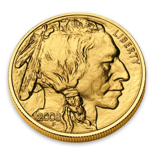2008 1/2oz Gold American Buffalo
