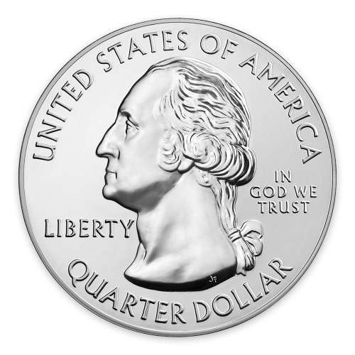 2016 5oz Silver  America the Beautiful Harpers Ferry National Historical Park