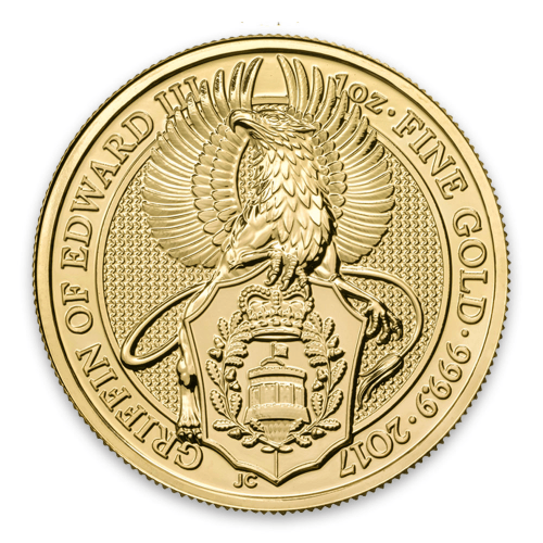 2017 1oz Britain Queen's Beasts: The Griffin
