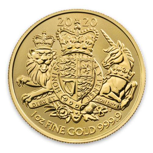 2020 1oz Royal Arms Gold Coin
