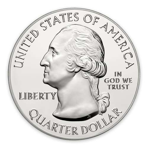 2014 5 oz Silver America the Beautiful Great Smoky Mountains National Park