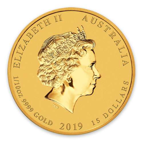 2019 1/10oz  Australian Perth Mint Gold Lunar Year of the Pig