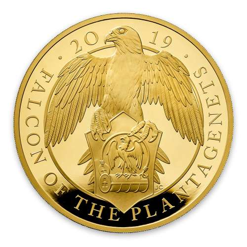 2019 1oz Britain Queen's Beast: The Falcon of the Plantagenets