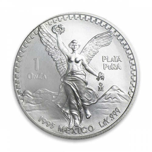 Any Year 1oz Mexican Silver Onza Libertad