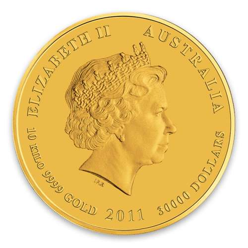 2011 10kg Australian Perth Mint Gold Lunar II: Year of the Rabbit